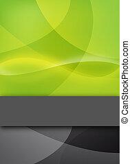 testo, astratto, sbarra, verde, disegno