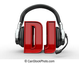 testo, handphones, dj