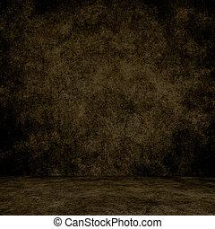 texture., parete, grunge, interno, disegnato, pavimento, fondo