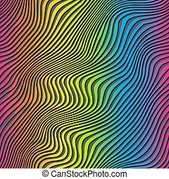texture., seamless, arcobaleno, zebrato