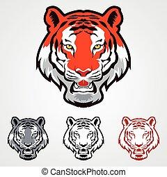 tiger, icone