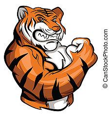 tiger, mascotte