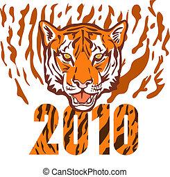 tiger, nuovo, 2010, anno