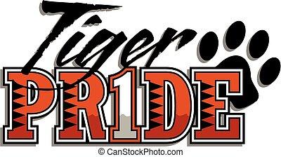 tiger, orgoglio
