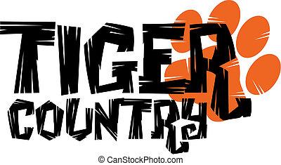 tiger, paese, disegno