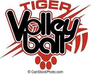 tiger, pallavolo