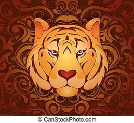 tiger, simbolo, 2010, anno