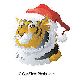 tiger, simbolo, -, 2010