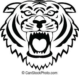 tiger, tatuaggio