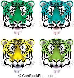 tiger, teste