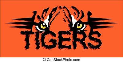 tigri, disegno