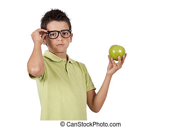 tipo, mela verde