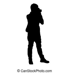 tipo, silhouette