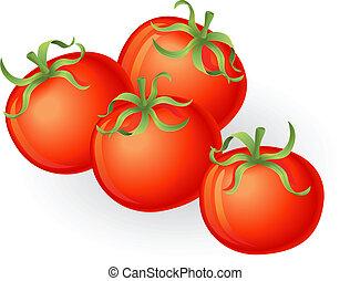 tomatos, illustrazione