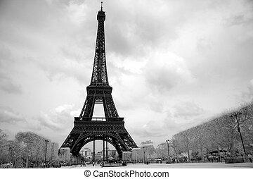torre, eiffel, parigi, francia