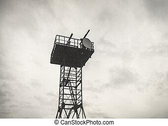 torre, maltempo, navigazione