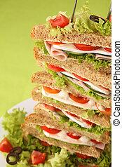 torre, panino