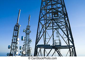 torreggiare, telecomunicazioni, 4