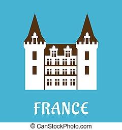 torrette, rinascimento, francia, castello