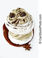 torta, caffè, saporito