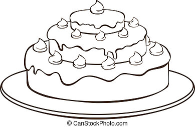 torta, contorno