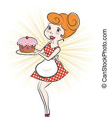 torta, donna