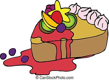 torta, yummy