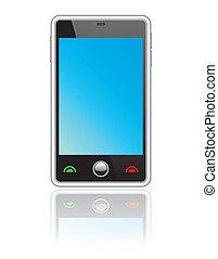 touchscreen, astratto, smartphone