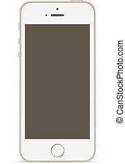 touchscreen, technology., mobile, mockup, telefono, disegno, template.