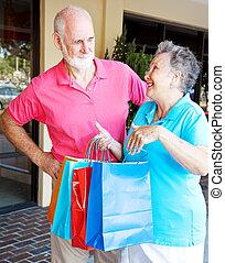 toxicomano, moglie, shopping