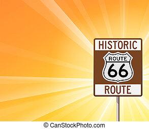 tracciato, storico, 66, giallo