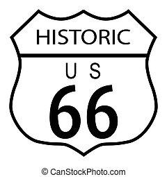tracciato, storico, 66