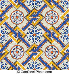 tradizionale, modello, mediterraneo