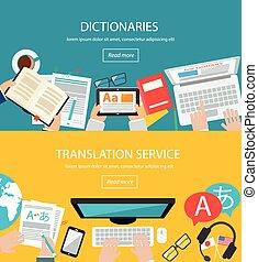 traduzione, concetti, lingua, straniero