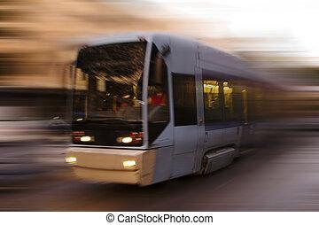 tram, astratto