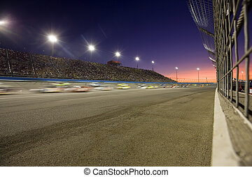 tramonto, speedway