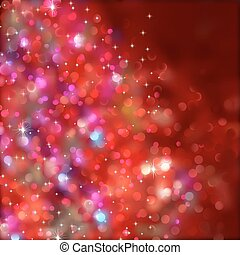 transparency), lights., eps, (without, 8, natale