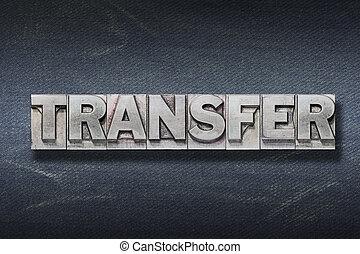 trasferimento, parola, tana