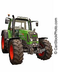 trattore azienda agricola, verde