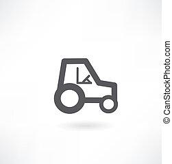 trattore, icona