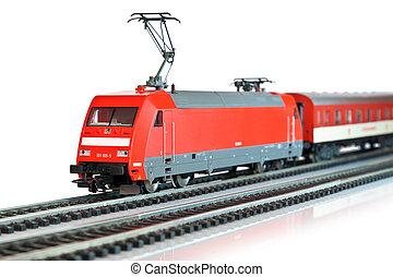 treno miniatura