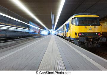 treno, presa