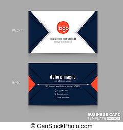 triangolo blu, affari, estratto disegno moderno, marina, scheda