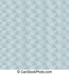 triangolo blu, astratto, vettore, retro, fondo