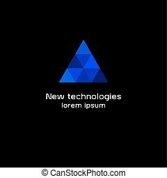 triangolo blu