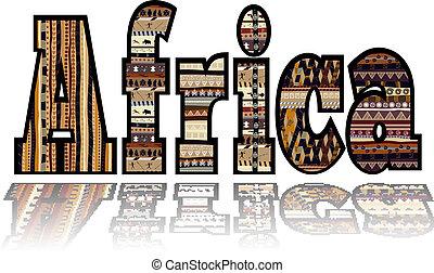 tribale, elementi, africa