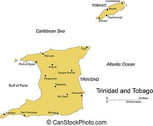 trinidad, tobago, isola, capitale