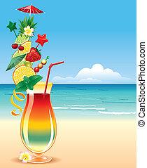 tropicale, cocktai