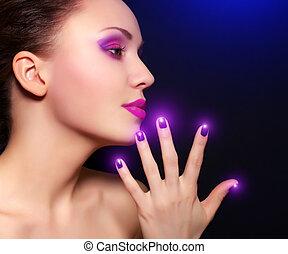 trucco, manicure