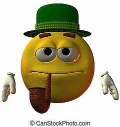 tubo, smiley-hat